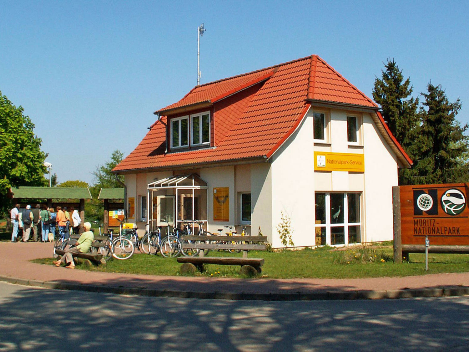 Müritz-Nationalpark-  Nationalparkinfo in Federow